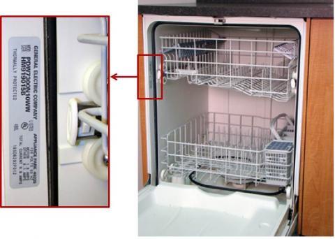 Find GE Dishwasher service manual by model number Appliance